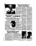 New Mexico Daily Lobo, Volume 078, No 39, 10/17/1974
