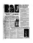 New Mexico Daily Lobo, Volume 078, No 45, 10/25/1974