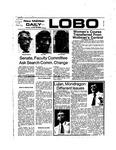 New Mexico Daily Lobo, Volume 078, No 46, 10/28/1974