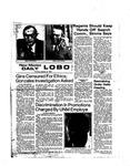 New Mexico Daily Lobo, Volume 078, No 49, 10/31/1974
