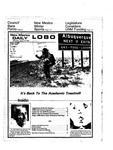 New Mexico Daily Lobo, Volume 078, No 74, 1/15/1975 by University of New Mexico