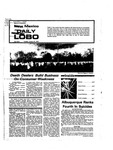 New Mexico Daily Lobo, Volume 078, No 76, 1/21/1975 by University of New Mexico