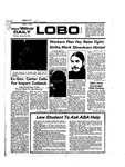 New Mexico Daily Lobo, Volume 078, No 78, 1/23/1975 by University of New Mexico