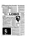 New Mexico Daily Lobo, Volume 078, No 80, 1/27/1975 by University of New Mexico