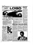 New Mexico Daily Lobo, Volume 078, No 82, 1/29/1975 by University of New Mexico