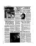 New Mexico Daily Lobo, Volume 078, No 84, 1/31/1975 by University of New Mexico