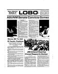 New Mexico Daily Lobo, Volume 078, No 98, 2/20/1975 by University of New Mexico
