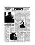 New Mexico Daily Lobo, Volume 078, No 109, 3/7/1975