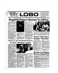 New Mexico Daily Lobo, Volume 078, No 117, 3/19/1975 by University of New Mexico