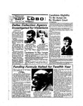 New Mexico Daily Lobo, Volume 078, No 121, 4/1/1975 by University of New Mexico