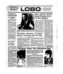 New Mexico Daily Lobo, Volume 078, No 125, 4/7/1975 by University of New Mexico