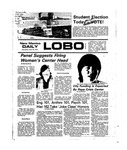 New Mexico Daily Lobo, Volume 078, No 132, 4/16/1975 by University of New Mexico