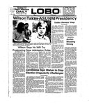 New Mexico Daily Lobo, Volume 078, No 133, 4/17/1975 by University of New Mexico