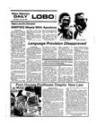 New Mexico Daily Lobo, Volume 078, No 152, 7/10/1975 by University of New Mexico