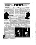 New Mexico Daily Lobo, Volume 078, No 155, 7/31/1975 by University of New Mexico