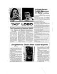 New Mexico Daily Lobo, Volume 079, No 5, 8/28/1975 by University of New Mexico