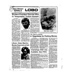New Mexico Daily Lobo, Volume 079, No 75, 1/20/1976 by University of New Mexico
