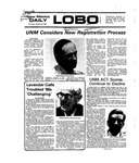 New Mexico Daily Lobo, Volume 079, No 77, 1/22/1976