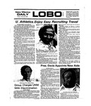 New Mexico Daily Lobo, Volume 079, No 78, 1/23/1976 by University of New Mexico
