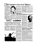 New Mexico Daily Lobo, Volume 079, No 82, 1/29/1976 by University of New Mexico