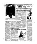 New Mexico Daily Lobo, Volume 079, No 83, 1/30/1976 by University of New Mexico