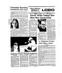 New Mexico Daily Lobo, Volume 079, No 84, 2/2/1976 by University of New Mexico