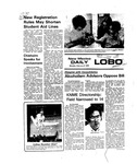 New Mexico Daily Lobo, Volume 079, No 89, 2/9/1976 by University of New Mexico
