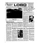 New Mexico Daily Lobo, Volume 079, No 96, 2/18/1976 by University of New Mexico