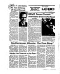 New Mexico Daily Lobo, Volume 079, No 97, 2/19/1976 by University of New Mexico