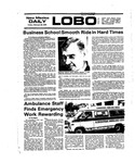 New Mexico Daily Lobo, Volume 079, No 98, 2/20/1976 by University of New Mexico
