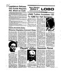 New Mexico Daily Lobo, Volume 079, No 101, 2/25/1976 by University of New Mexico