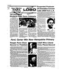 New Mexico Daily Lobo, Volume 079, No 102, 2/26/1976 by University of New Mexico