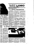 New Mexico Daily Lobo, Volume 079, No 111, 3/10/1976 by University of New Mexico