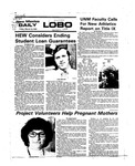 New Mexico Daily Lobo, Volume 079, No 113, 3/12/1976 by University of New Mexico
