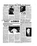 New Mexico Daily Lobo, Volume 079, No 117, 3/25/1976 by University of New Mexico