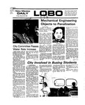 New Mexico Daily Lobo, Volume 079, No 118, 3/26/1976 by University of New Mexico