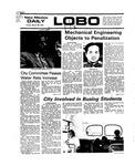 New Mexico Daily Lobo, Volume 079, No 118, 3/26/1976