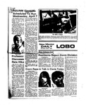 New Mexico Daily Lobo, Volume 079, No 122, 4/1/1976