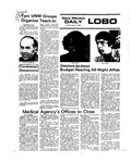 New Mexico Daily Lobo, Volume 079, No 123, 4/2/1976 by University of New Mexico
