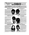 New Mexico Daily Lobo, Volume 079, No 125, 4/6/1976 by University of New Mexico