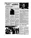 New Mexico Daily Lobo, Volume 079, No 129, 4/12/1976 by University of New Mexico