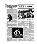 New Mexico Daily Lobo, Volume 079, No 130, 4/13/1976 by University of New Mexico