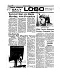 New Mexico Daily Lobo, Volume 079, No 131, 4/14/1976