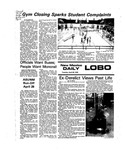 New Mexico Daily Lobo, Volume 079, No 135, 4/20/1976 by University of New Mexico