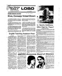 New Mexico Daily Lobo, Volume 079, No 137, 4/22/1976 by University of New Mexico