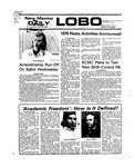 New Mexico Daily Lobo, Volume 079, No 139, 4/26/1976 by University of New Mexico