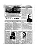 New Mexico Daily Lobo, Volume 079, No 140, 4/27/1976 by University of New Mexico