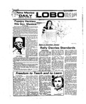New Mexico Daily Lobo, Volume 079, No 141, 4/28/1976 by University of New Mexico