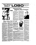 New Mexico Daily Lobo, Volume 079, No 142, 4/29/1976 by University of New Mexico