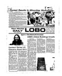 New Mexico Daily Lobo, Volume 079, No 143, 4/30/1976 by University of New Mexico